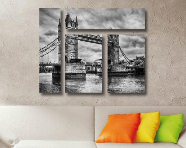 London Bridge Mixed 4 Panel