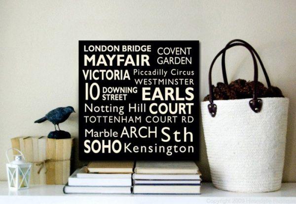 London Square Tram scroll