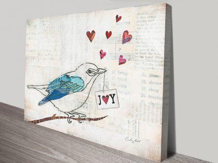 Buy a Love Birds Print by Courtney Prahl