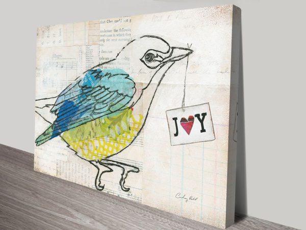 Love Birds III Canvas Art