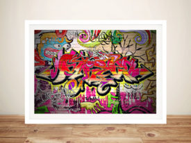Lucidity Graffiti Wall Art
