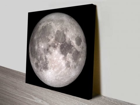 lunarscape wall art print on canvas australia