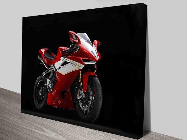 MV Augusta F4CC Motorbike Canvas Print