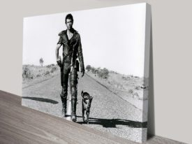 Mad max-road warrior canvas pop art