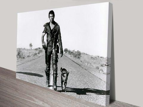 Mad max-road warrior canvas pop art