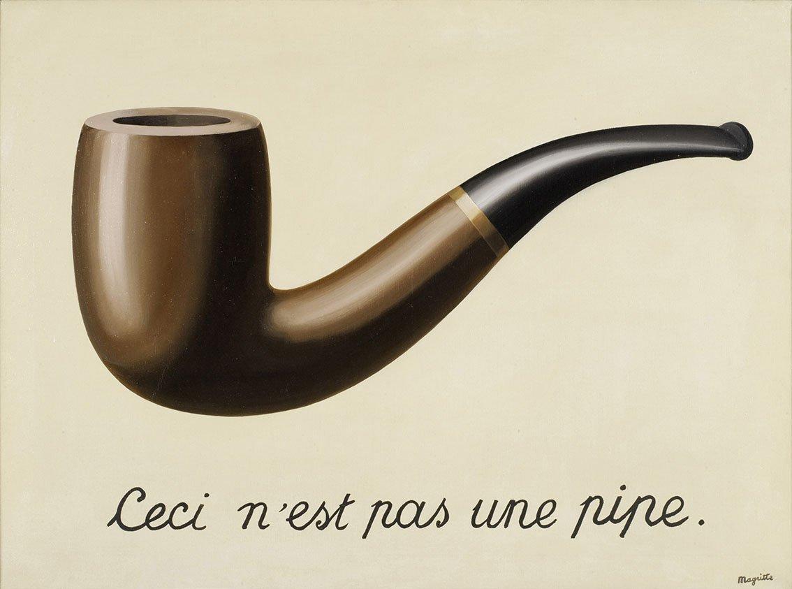 René Magritte La trahison des images (Ceci n'est pas une pipe) Print
