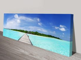 Maldives Canvas Wall Print