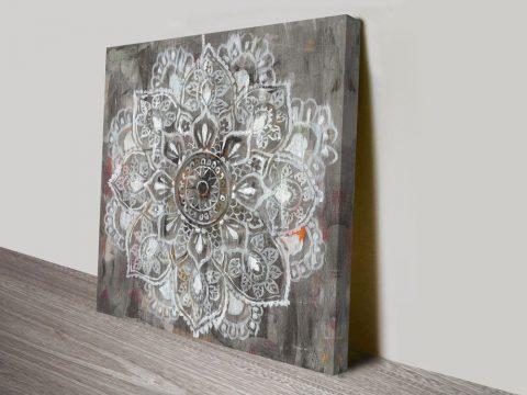 Mandala in Neutral II Artwork