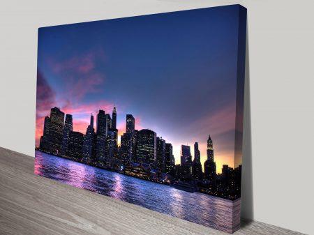 Manhattan Skyline Wall Art Online