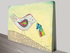 Mapping the Way Home I Canvas Art