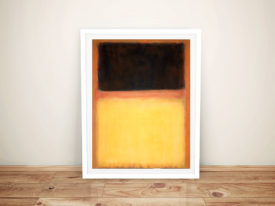 Mark Rothko No 9 Dark Over-Light Framed Wall Art Australia