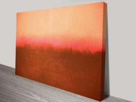 Mark Rothko Red Abstract Wall Art Print