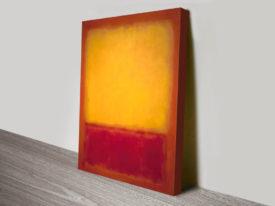 Mark Rothko Yellow over Purple Print