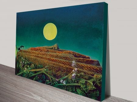 Max Ernst La Ville Entiere Classical Wall Art On Canvas