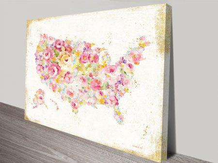 Midsummer USA II Canvas Art Print
