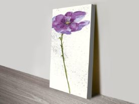 Mint-Poppies-I-in-Purple-Crop-canvas-print_preview