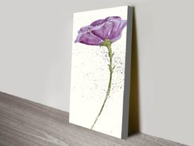 Mint-Poppies-II-in-Purple-Crop-canvas-print_preview