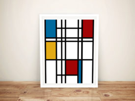 Piet Mondrian Framed Wall Art