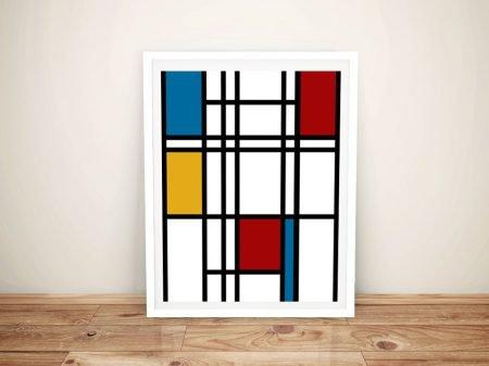 Piet Mondrian Framed Wall Art