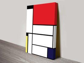 Piet Mondrian Tableau Canvas Wall Art