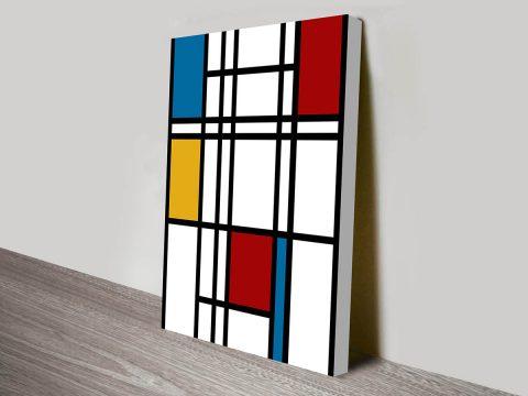 Piet Mondian Canvas Print