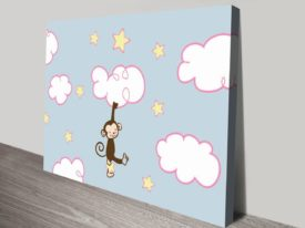Monkey On The Clouds