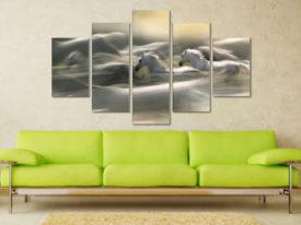 Morning Dream Five Piece Artwork Prints On Canvas