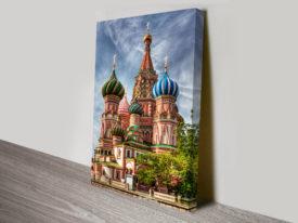 Moscow Cityscape Canvas Print Australia