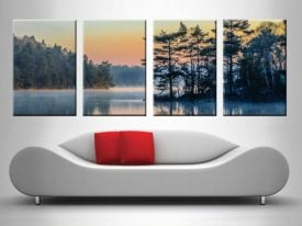 Mountain Lake 4 Panel