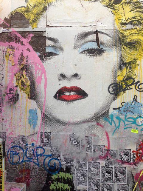 Mr Brainwash Marilyn Canvas Print
