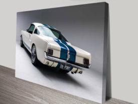 Mustang car art australia