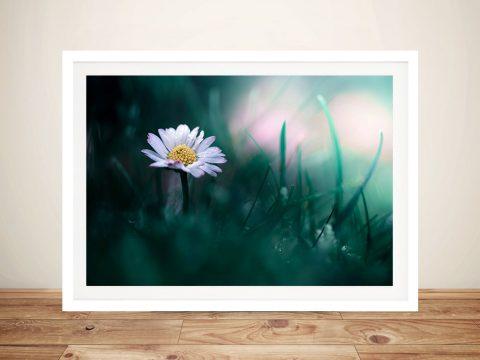 Mystical Daisy Art Canvas Art Print Photo