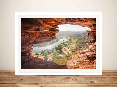 Nature's Window Australian Landscape Print