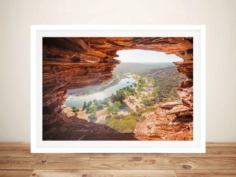 Nature's Window, Kalbarri National Park Australian Landscape Wall Art Print