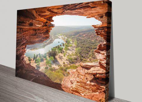Nature's Window Kalbarri National Park Canvas Print