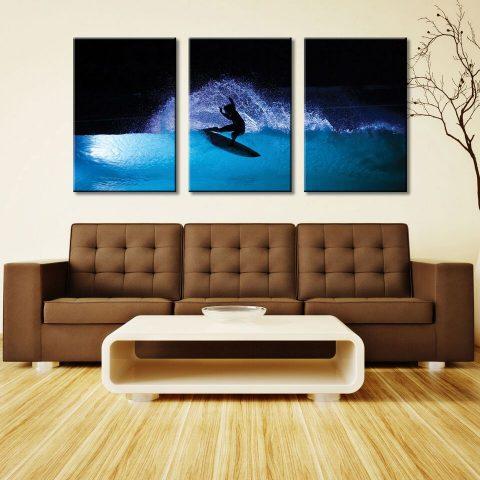 Night Surf 3 Panel