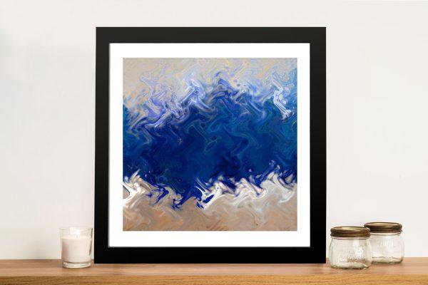 Ocean CreationAbstract Wall Print