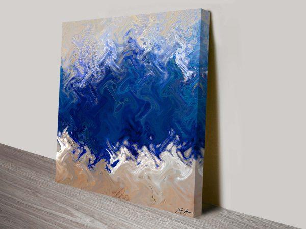 Ocean Creation abstract wall art