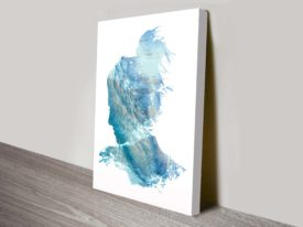 Ocean Dreams Abstract Canvas Print