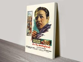 On the Waterfront Movie Poster Canvas Print