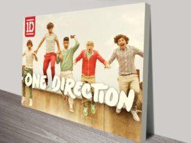 One Direction canvas artwork online