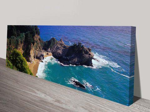 Paradise Island Canvas Wall Print