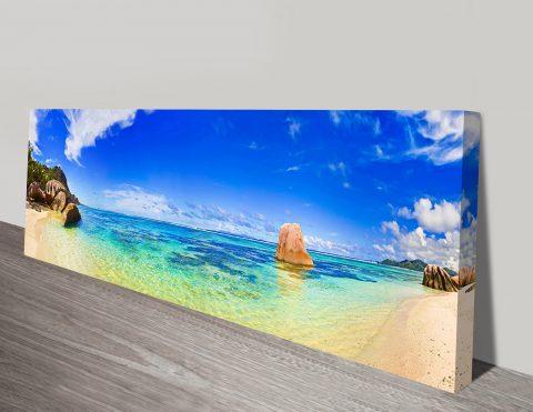 Paradise panoramic wall art