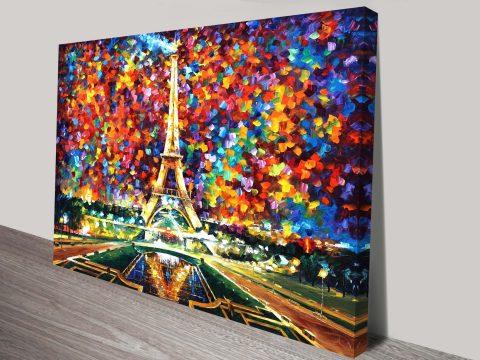 Paris of My Dreams leonid afremov print