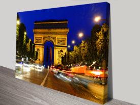 Paris Arc de Triomphe Art