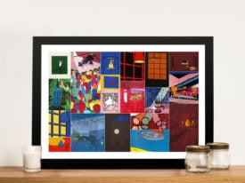 Patrick Caulfield Montage Framed Print Picture