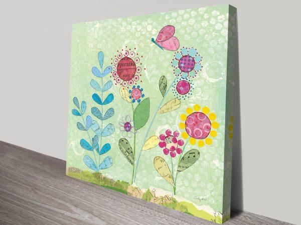 Pattys Garden II Artwork  