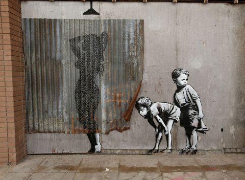 Banksy's Dismaland Canvas Art prints