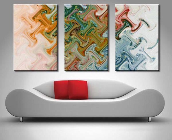 Abstract Split Panel Art for Sale Online