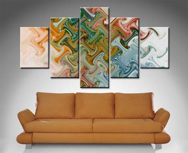 Split Diamond Abstract Art Cheap Onlin